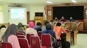 Sosialisasi dan Forkom Litbang (Forum  Komunikasi Penelitian dan Pengembangan)
